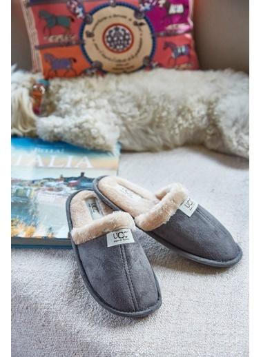 Arma Shoes Erkek Relax Ev Terliği Füme